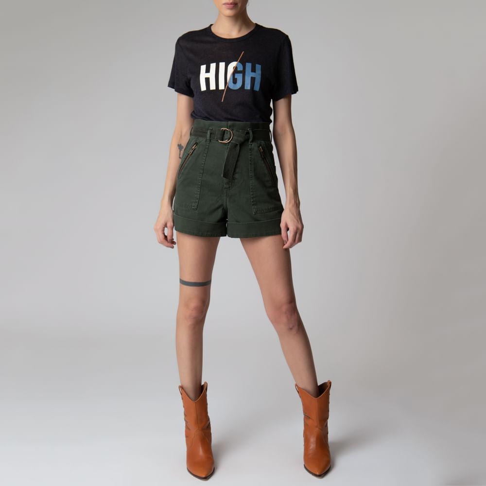 Camiseta Linho Silk Helena