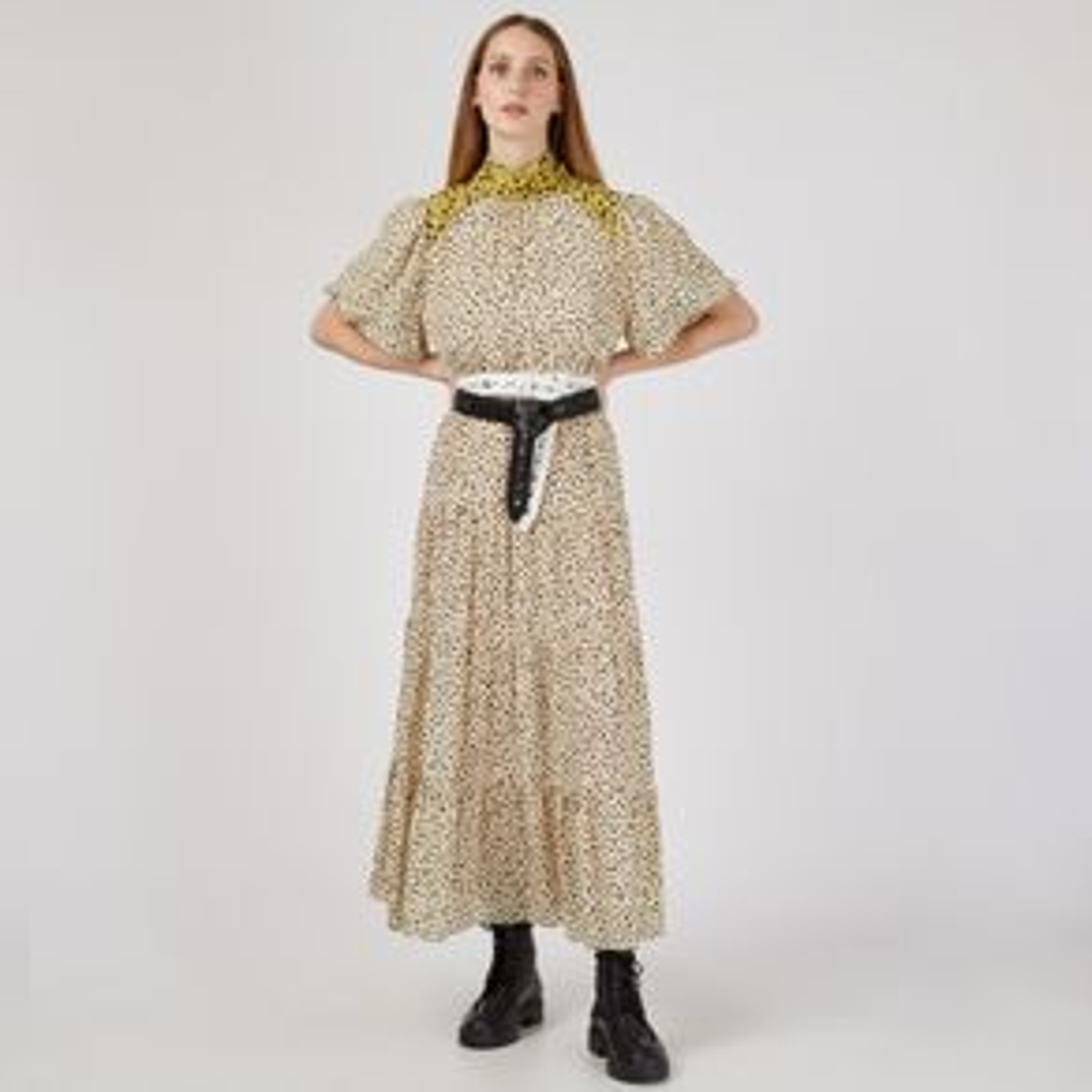Vestido De Seda Juliana