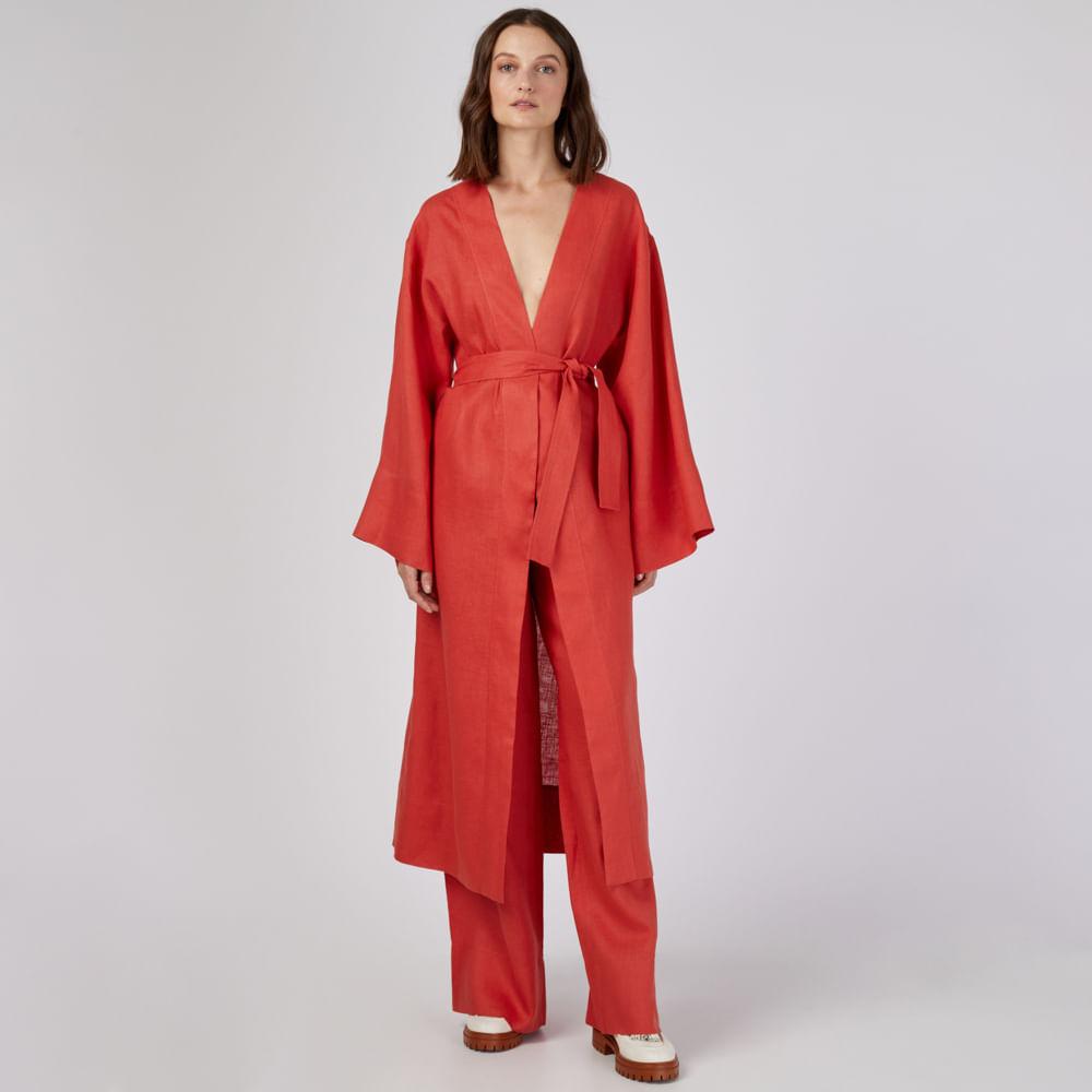 Kimono Linho Dream Dora